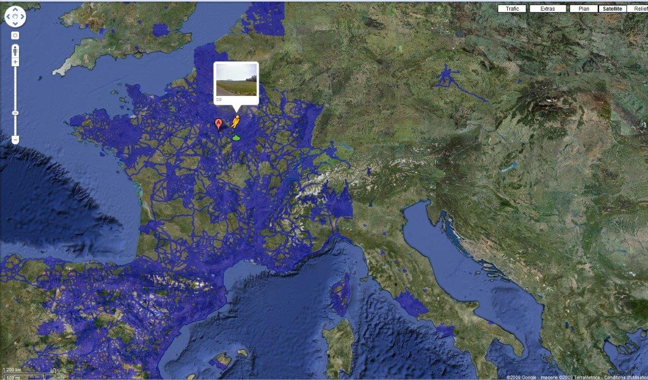 goggle maps france. Black Bedroom Furniture Sets. Home Design Ideas