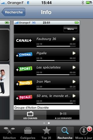 canal plus iphone