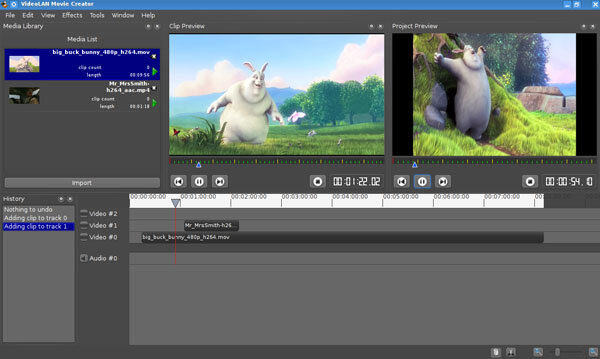 Videolan movie creator vlmc le vlc du montage vid o for Photo ecran logiciel
