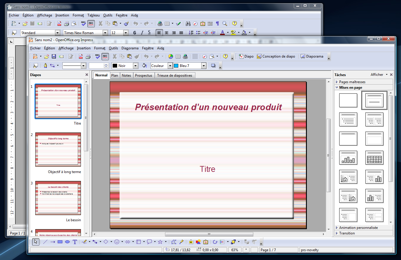 3 2 la version finale fran aise est - Comment faire un organigramme sur open office writer ...