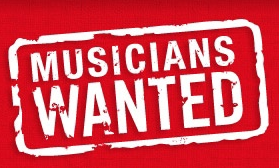 Youtube musicians wanted