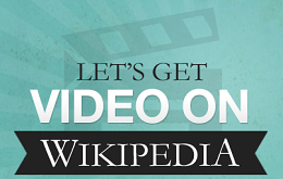 let's get video on wikipedia