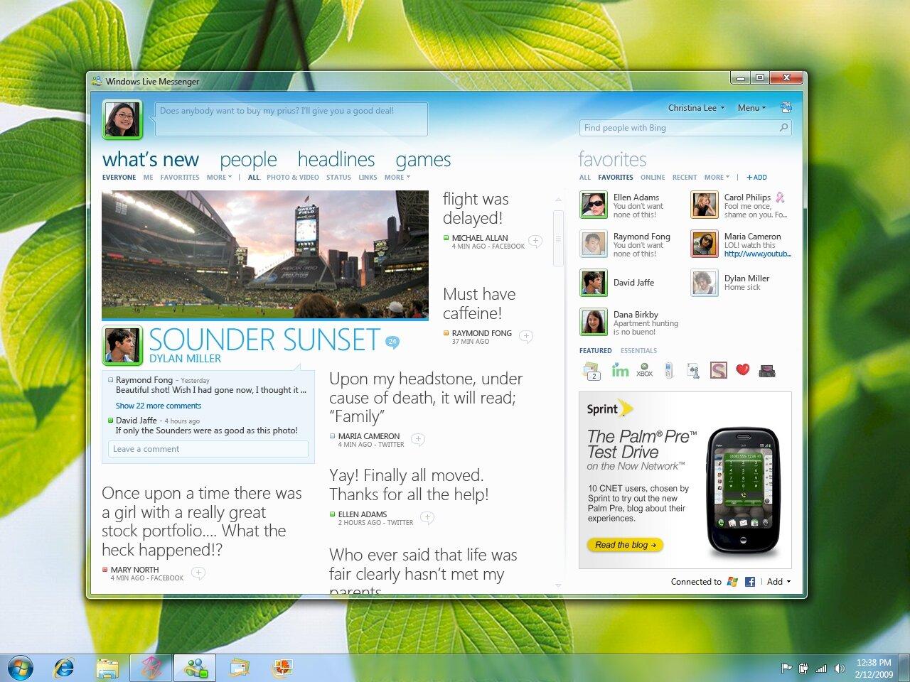 Windows Live essentials 2011 pour l'installateur hors ligne Windows XP