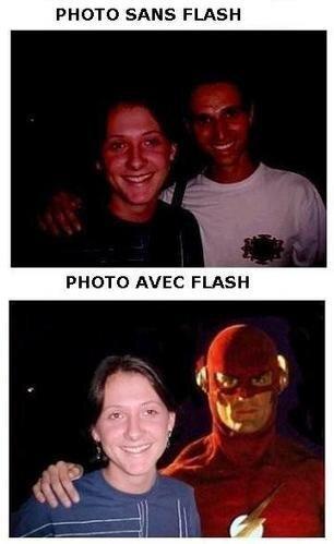 Flash ou pas
