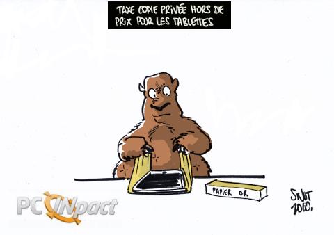 copie privée tablettes
