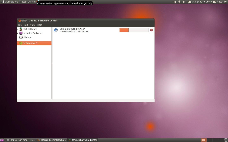 ubuntu abandonnera l 39 interface gnome pour unity. Black Bedroom Furniture Sets. Home Design Ideas