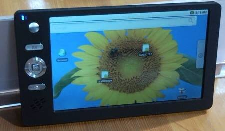 Tablette tactile Android Inde