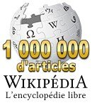 Wikipedia francais 1 million articles
