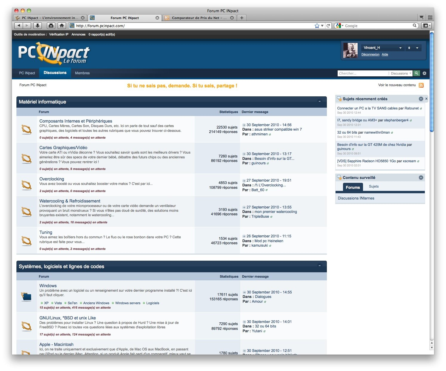 Firefox 4 : l'accélération graphique incertaine sous Mac OS X