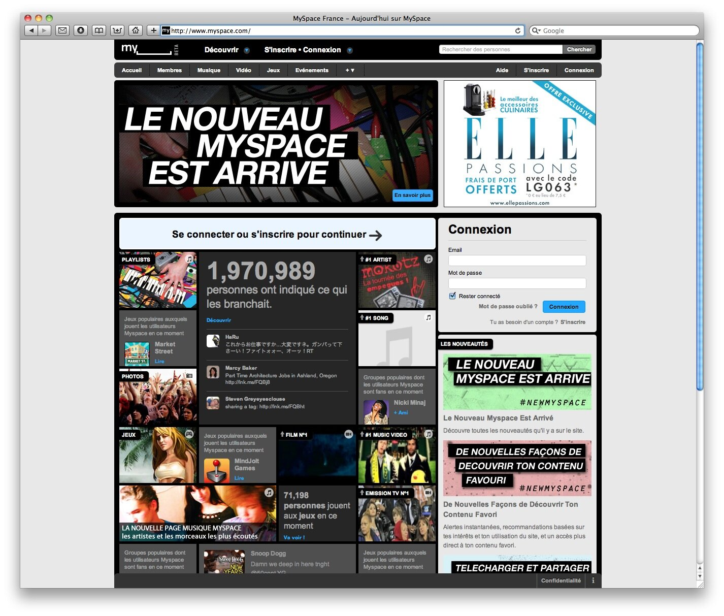Myspace rencontre