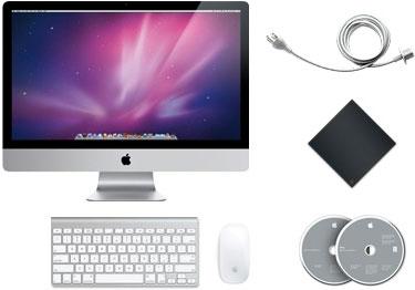 Apple iMac 27 contenu du carton