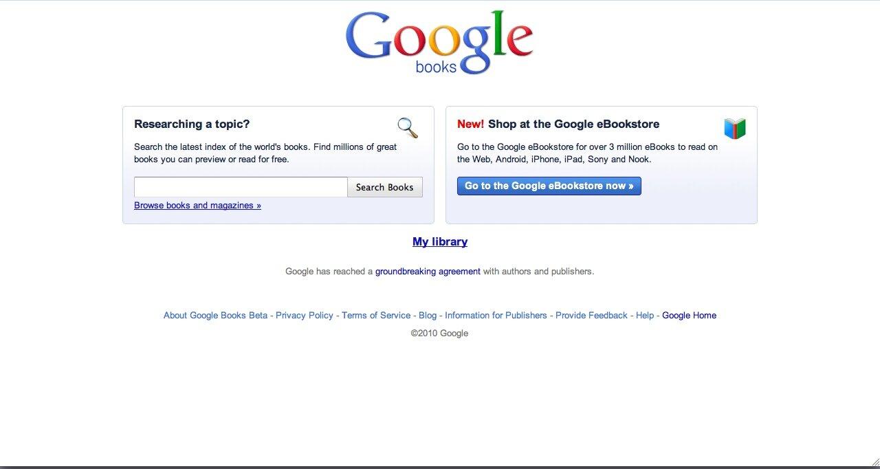 google lance officiellement sa boutique ebookstore