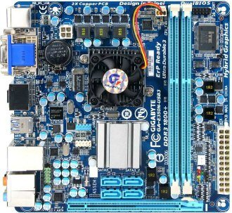 AMD Brazos Gigabyte GA-E350N-USB3 Fusion Zacate