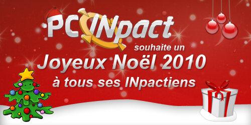 joyeux noel 2010 pc inpact pci