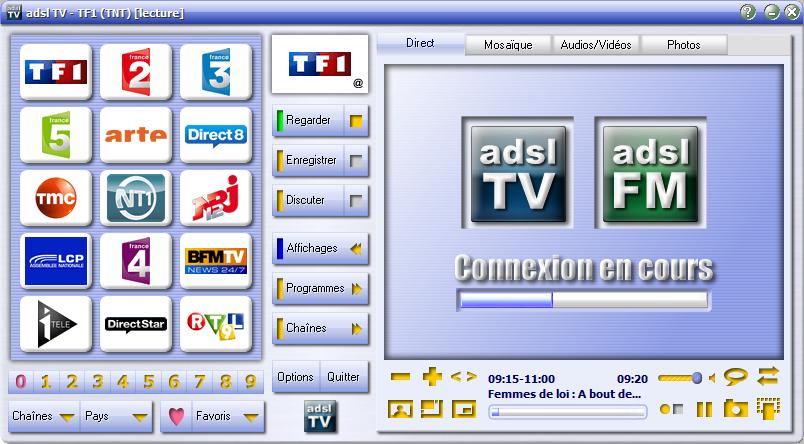ADSL POUR V6 FREEBOX TV TÉLÉCHARGER