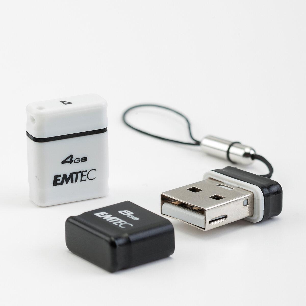 emtec annonce des clefs usb 2 0 miniatures de 4 8 et 16 go. Black Bedroom Furniture Sets. Home Design Ideas
