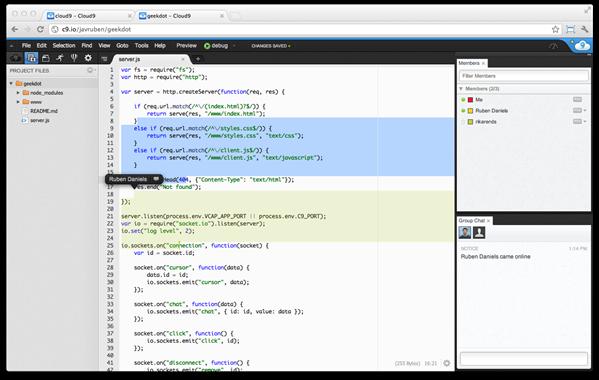 Cloud9 IDE Update