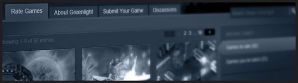 Valve Steam Greenlight