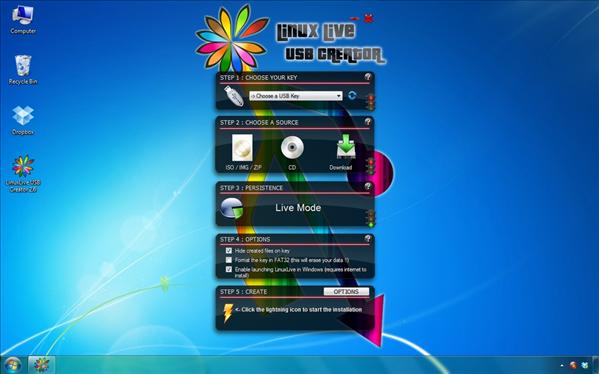 Live Linux USB Creator