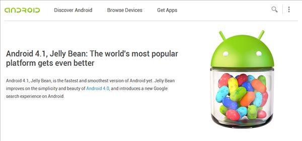 Android 4.1 Nouveautés