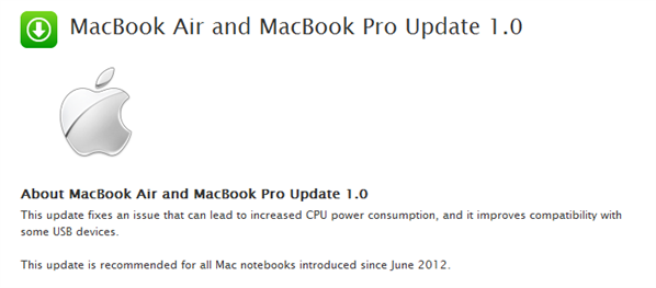 MacBook Air Pro patch