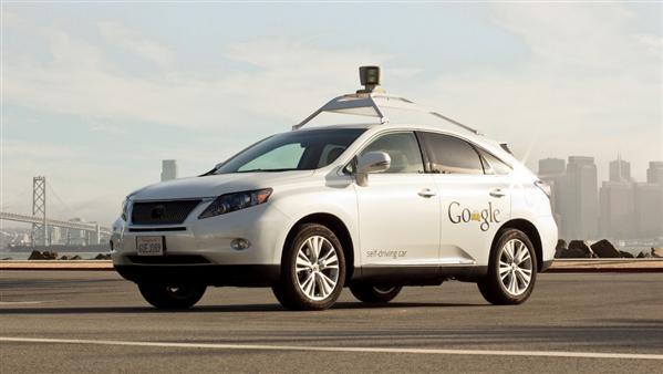 Google voiture sans pilote Lexus