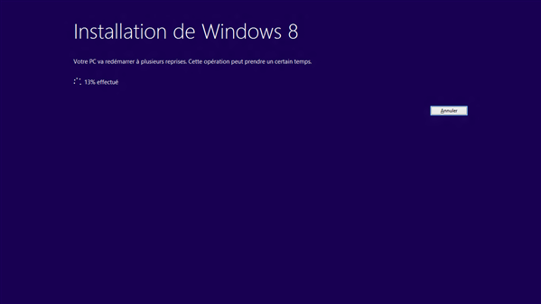 Windows 8 RTM Mise à jour Version complète