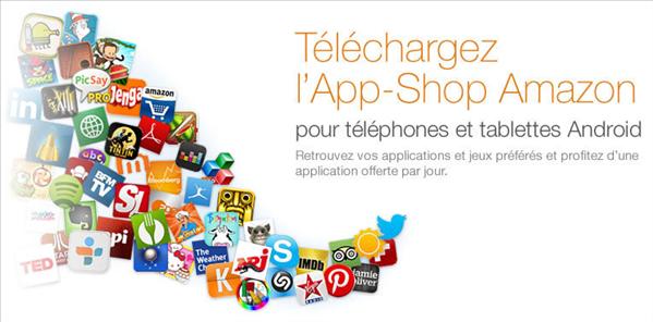 Amazon app store shop france
