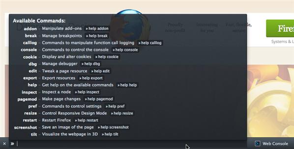 Firefox 16 Command Line