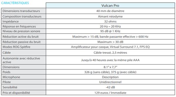 ASUS Vulcan Pro