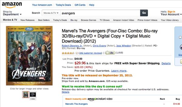 Amazon Avengers