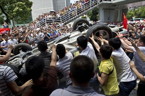 Chine manifestations anti-Japon