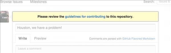 GitHub Contribute
