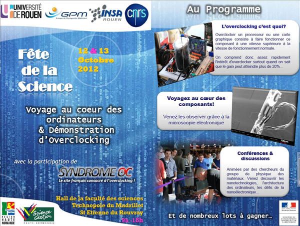Fete de la science Rouen SOC