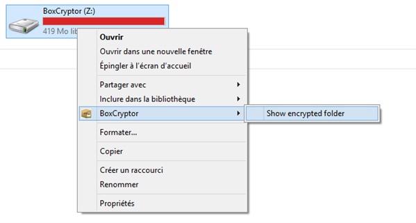BoxCryptor 1.4 Windows