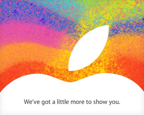 Apple iPad Mini 23 octobre