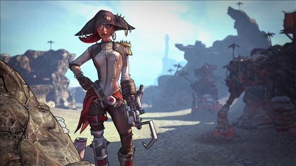 Borderlands 2 DLC Captain Scarlett