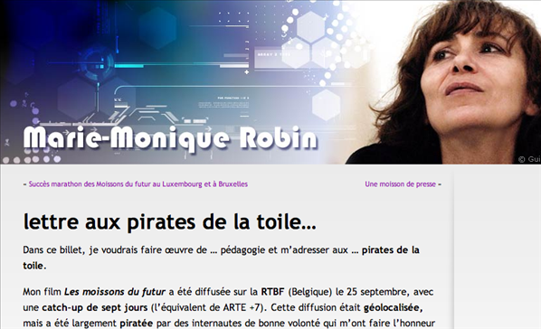lettre pirates robin