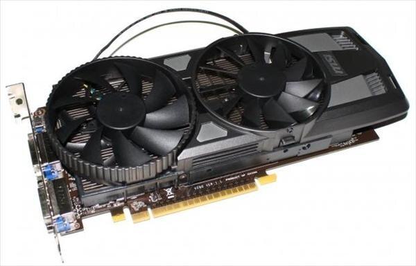 GTX 650 Power Edition MSI