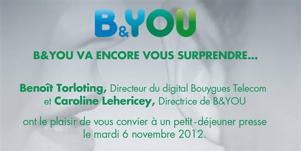B&You annonce