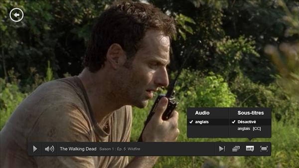 Netflix Walking Dead