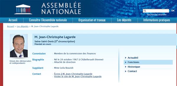 Jean Christophe Lagarde