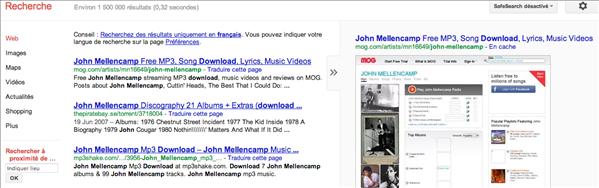 mellencamp google