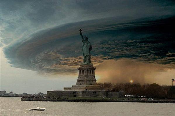 New York Sandy Fake