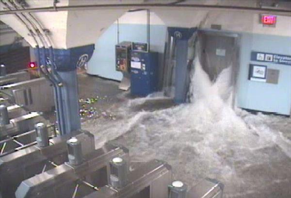 Inondation New York