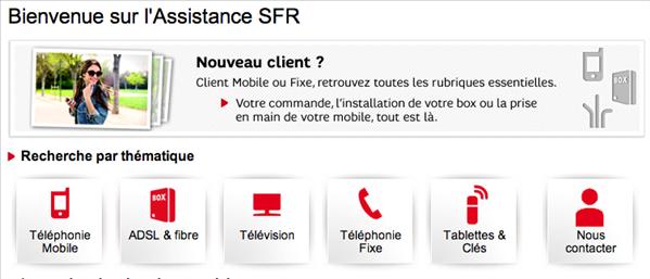 SFR assistance