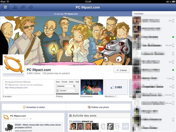 Facebook 5.1 iOS