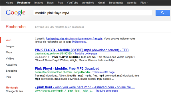 musique streaming google
