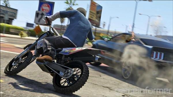 GTA V Moto-cross