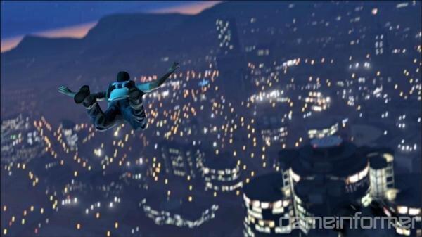 GTA V Parachute